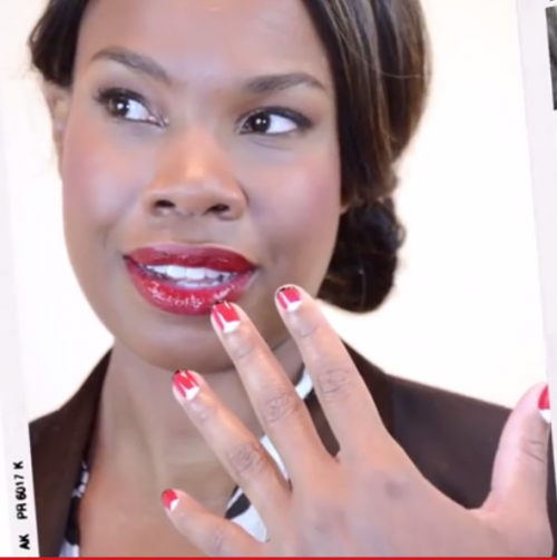 Nail Art: French Manicure Design Tutorial