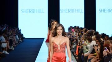 SHERRI HILL - MIAMI FASHION WEEK - MAY 2014 (TBT)