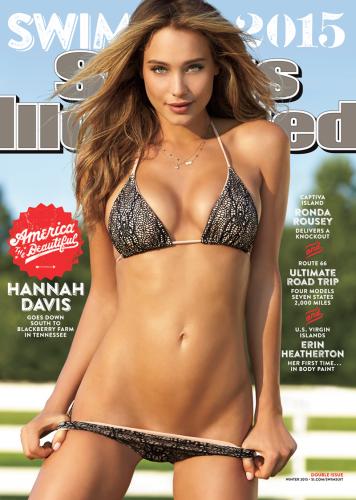 Congratulations, Hannah Davis, SI Swimsuit cover model