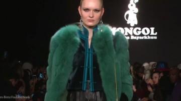 Mongol at New York Fashion Week