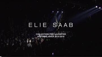 ELIE SAAB Ready-to-Wear Autumn Winter 2015-16