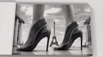 Louis Vuitton Shoes Across Paris