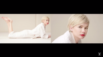 Louis Vuitton presents the new campaign featuring Michelle Williams