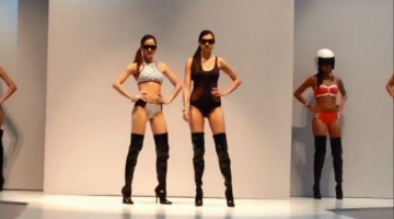 Sports Luxe Swimwear Trend Hits MODA Fashion Show 2014!