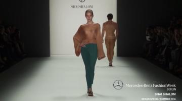 SHAI SHALOM - MERCEDES-BENZ FASHION WEEK BERLIN Spring Summer 2016