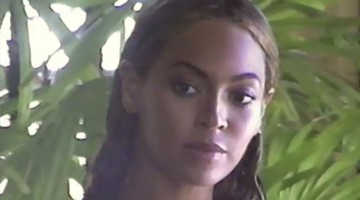 Beyoncé Video at the September Issue Cover Shoot
