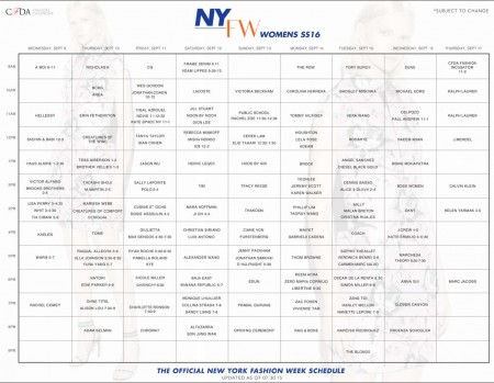 NYFW-Official-Schedule-07-30-15 - New-York-Style-Guide