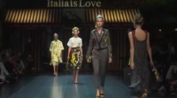 Dolce  Gabbana 2016 Spring Summer Show In Milan