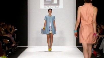 Gregorio Sanchez: SS 2015 Mercedes Benz Fashion Week