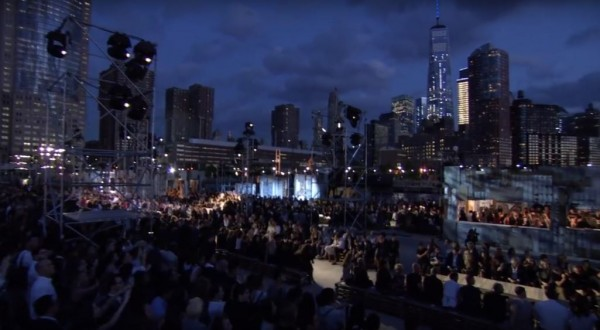 Givenchy Runway Show at New York Fashion Week SS2016