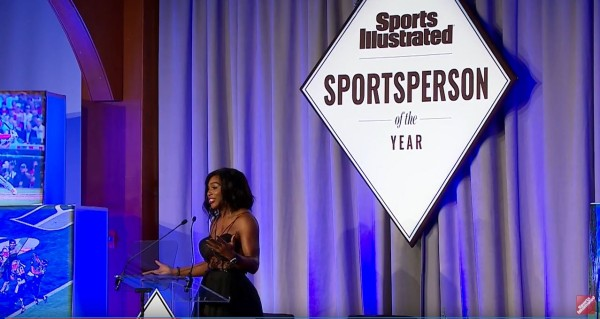 Serena Williams Inspiring Sportsperson of the Year Acceptance Speech