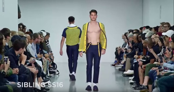 Sibling Men's SS16 at London Collections Men