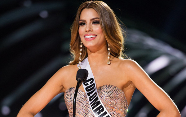 Miss Colombia Speaks out Online