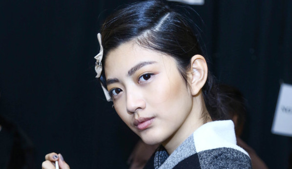Taoray Wang Backstage FW16 NYFW