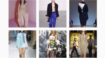 Highlights from London Fashion Week Autumn Winter 2016