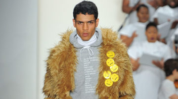 Pyer Moss Runway Show for A/W 2016 Collection - NYFW