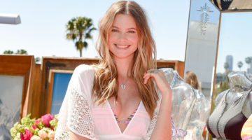 BEHATI PRINSLOO SHOWED OFF THE ALL NEW VICTORIA'S SECRET SWIM COLLECTION