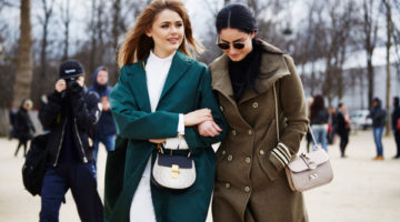 Our report from Day 1 of Paris Fashion Week Fall Winter 2016. What they wore, not the other runway! #streetstyle by Badara Ndiaye Photography by Muffadal Abbas