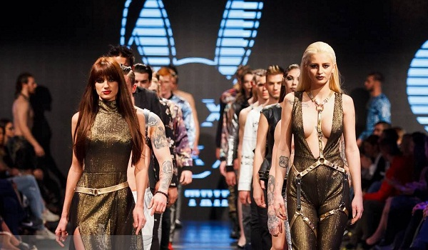 Mister Triple X Serves Sexy to Serbia Fashion Week