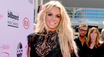 Britney Spears on the Red Carpet at Billboard Music Awards