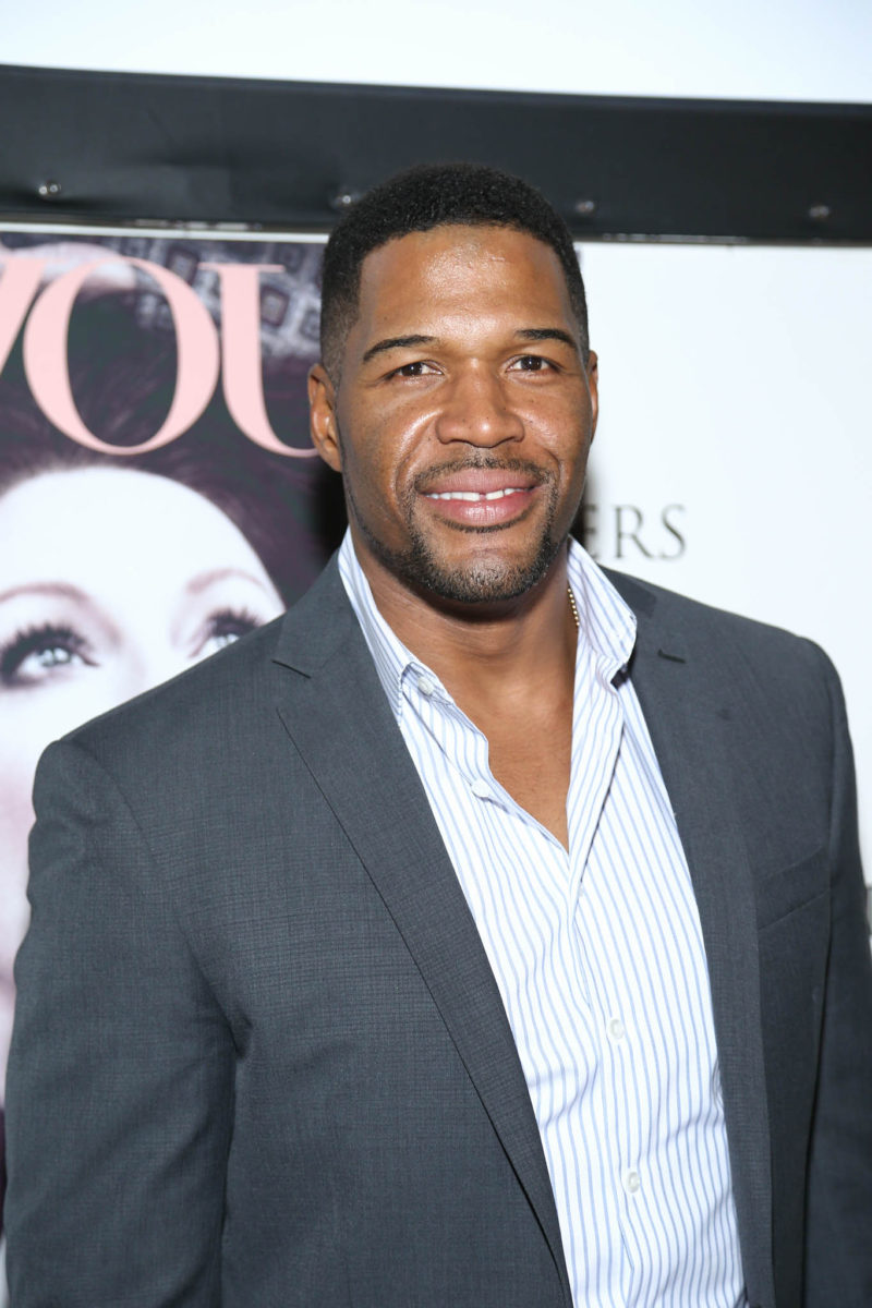 Michael Strahan attends Timecrafters opening night at Park Avenue Armory on May 12, 2016 in New York City. Credit: John Nacion Imaging