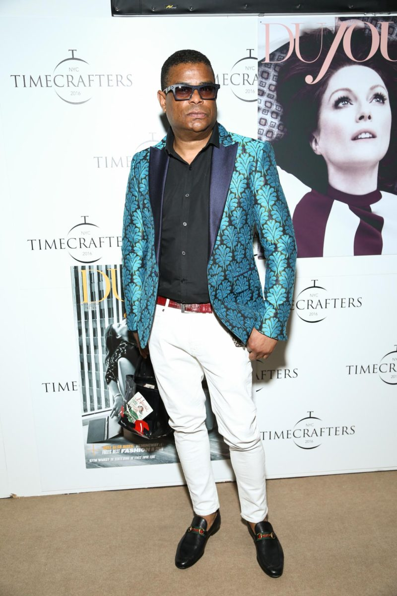 George Wayne attends the TAG Heuer At TimeCrafters NYC 2016 on May 12, 2016 in New York City.Credit: John Nacion Imaging