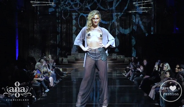 AnaOno Intimates X #Cancerland at New York Fashion Week