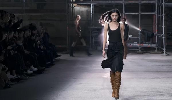 SAINT LAURENT Runway Show FW 2017-18 Paris Fashion Week