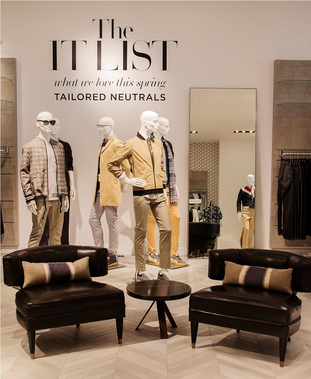 SAKS 5TH AVE OPENS DOWNTOWN MENS STORE