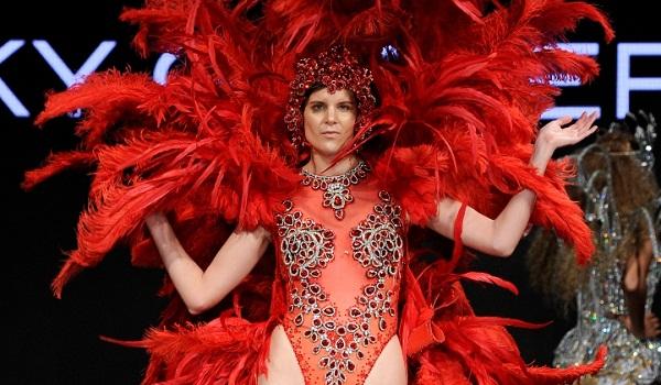 Rocky Gathercole at Art Hearts Fashion LA Fashion Week