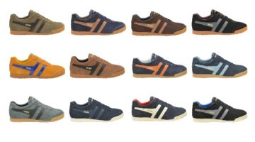 Gola, UK-based, menswear, womenswear and childrens sneaker brand