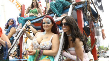 35th Annual Mermaid Parade in Coney Island with Debbie Harry
