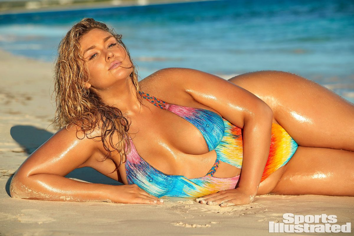 Body Paint publicity image Hunter McGrady Anguilla