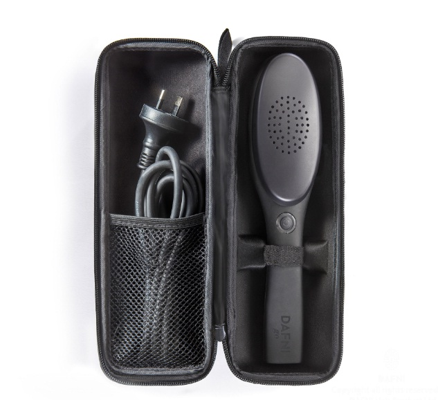 DAFNI go Hair Straightening Brush 2