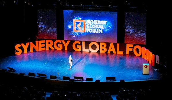 SIR RICHARD BRANSON HEADLINES SYNERGY GLOBAL FORUM 2017