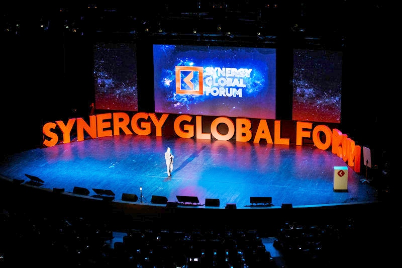 at the Forum courtesy of Synergy Global Forum