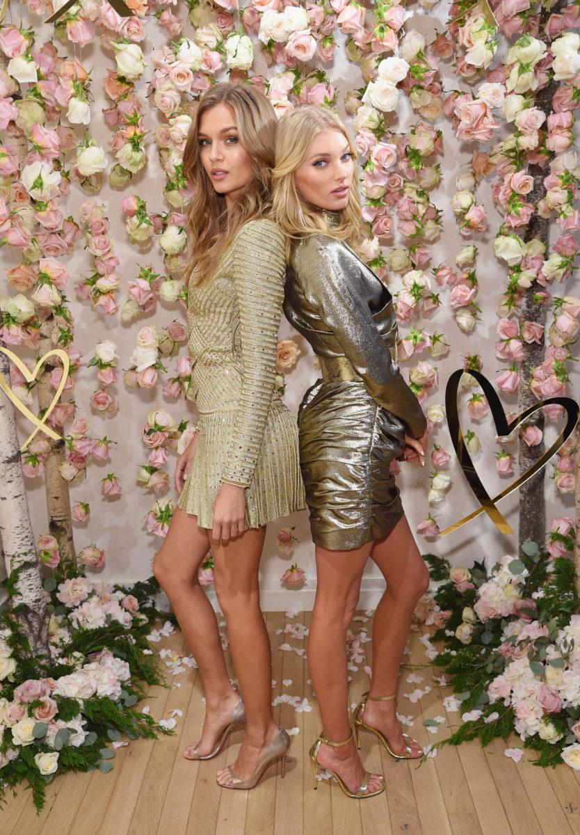 Victoria's Secret Angels Josephine Skriver and Elsa Hosk