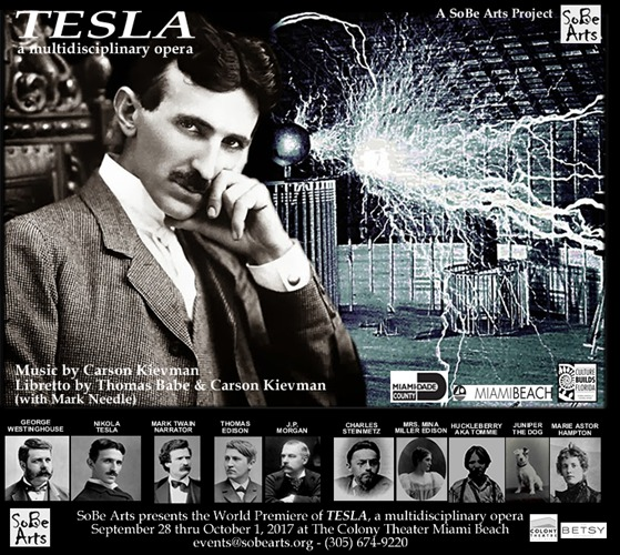 The World Preimere of TESLA