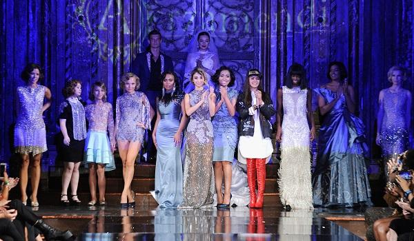 Arzamendi Style at New York Fashion Week NYFW Art Hearts Fashion SS/18