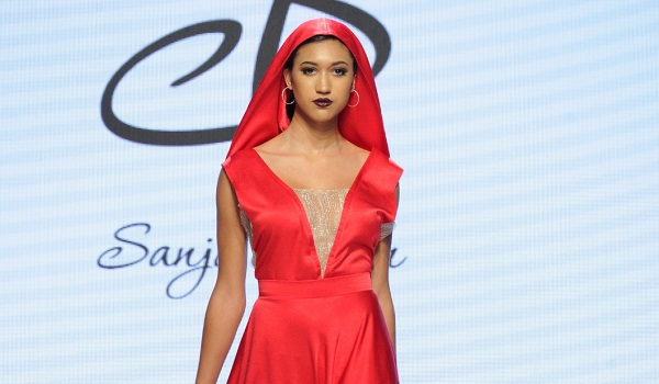 Sanja Bobar Spring 2018 Collections - LA Fashion Week Art Hearts Fashion