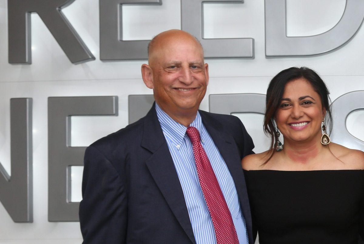 Richard Schechter and Krishna Patel