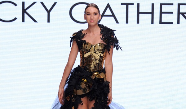 Rocky Gathercole at Los Angeles Fashion Week SS18 Art Hearts Fashion