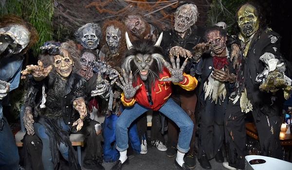 Heidi Klum's 18th Annual Halloween Party - Inside