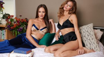Dear Drew Intimates and Loungewear collection photography by Charlie Chipman 2