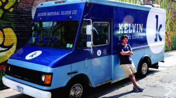 Kelvin Natural Slush Co. Truck
