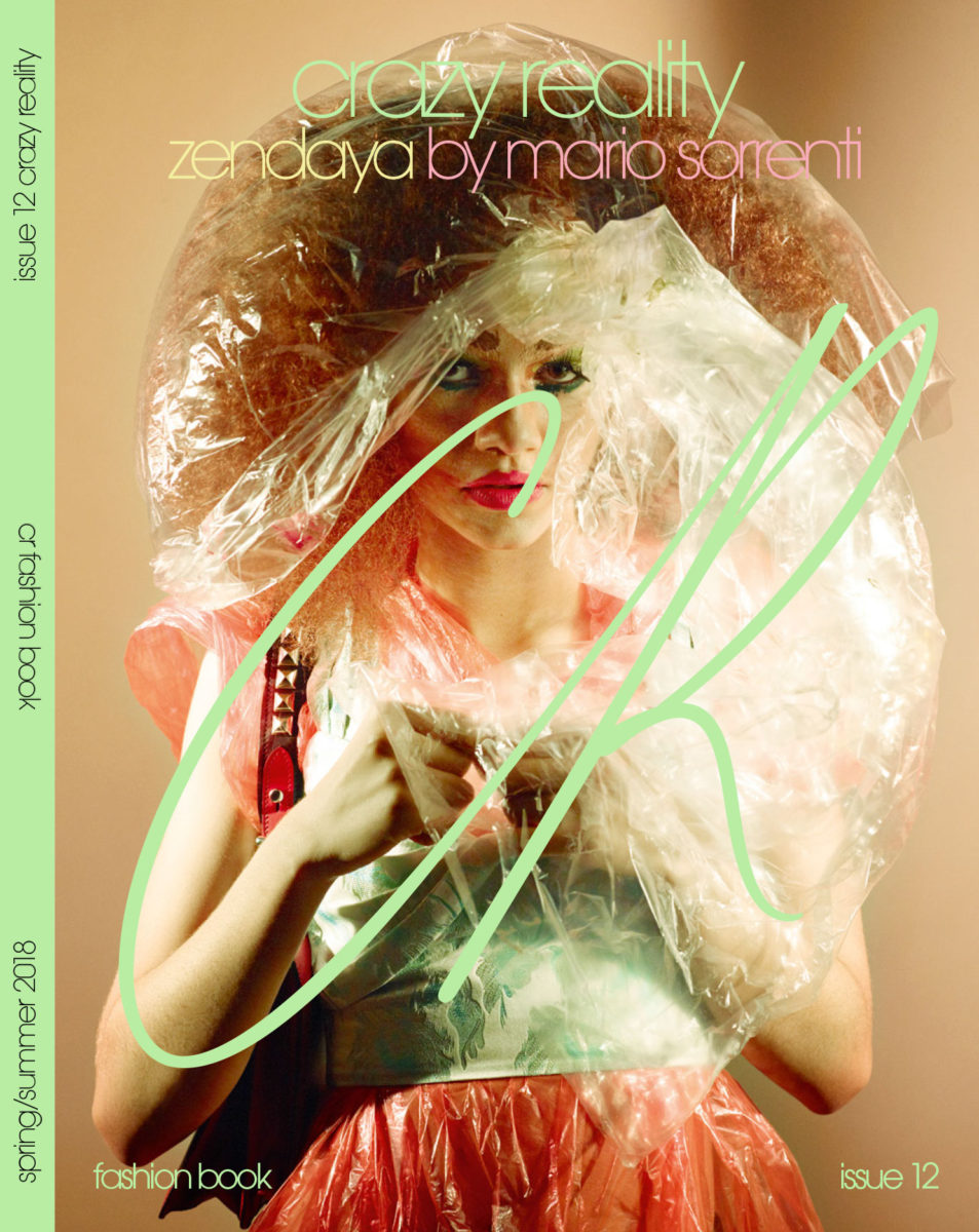 CR Fashion Book Issue 12-Zendaya Cover by Mario Sorrenti