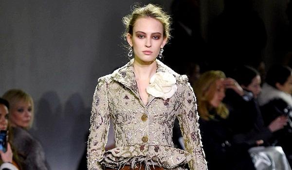 Brock Collection Fall Winter 2018 Womenswear at New York Fashion Week
