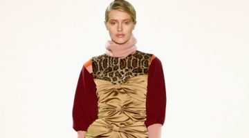 """MARCEL OSTERTAG DEBUTED A/W 2018 """"OPIUM"""" COLLECTION DURING NEW YORK FASHION WEEK"""