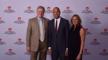 NY Yankee Legend & Miami Marlins CEO, Derek Jeter Received Joe DiMaggio Icon Award at The Diplomat Beach Resort