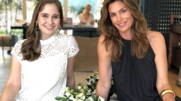 Shoe Shopping and Champagne with Cindy Crawford